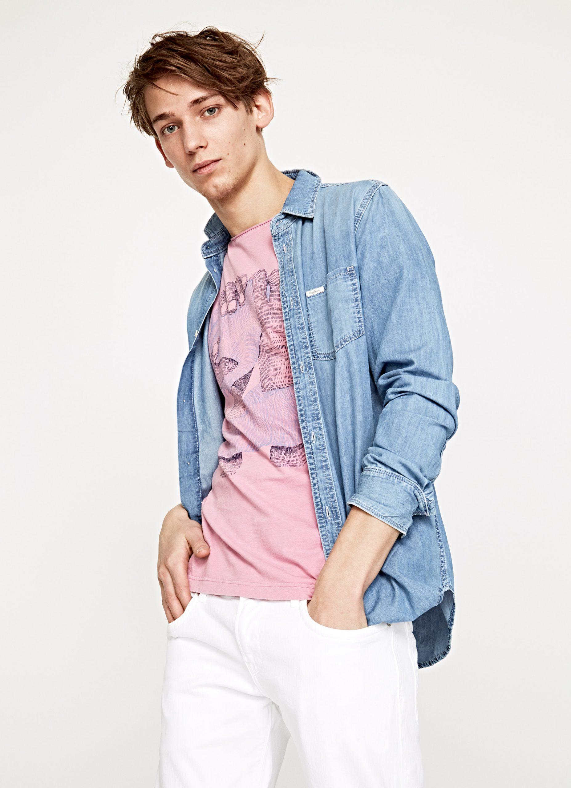 Pepe Jeans Camisa Denim Bulevar Moda Envios A Espana
