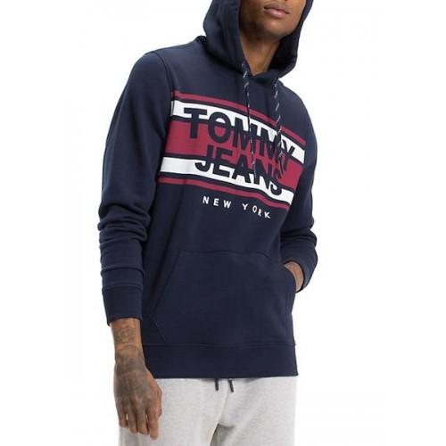 Sudadera con capucha y logo de Tommy Jeans