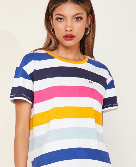 CAMISETA RAYAS COLORES - TOMMY HILFIGER