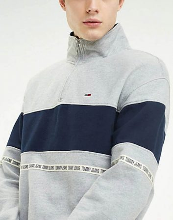 SUDADERA GRIS TOMMY
