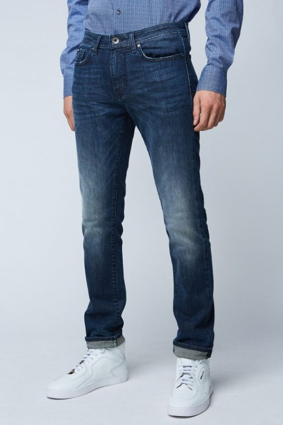 VAQUERO USED OSCURO - GAS JEANS